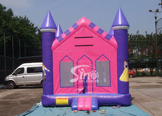 13x13 outdoor kids party Princess Inflatable Bounce House with 18 OZ PVC Tarpaulin